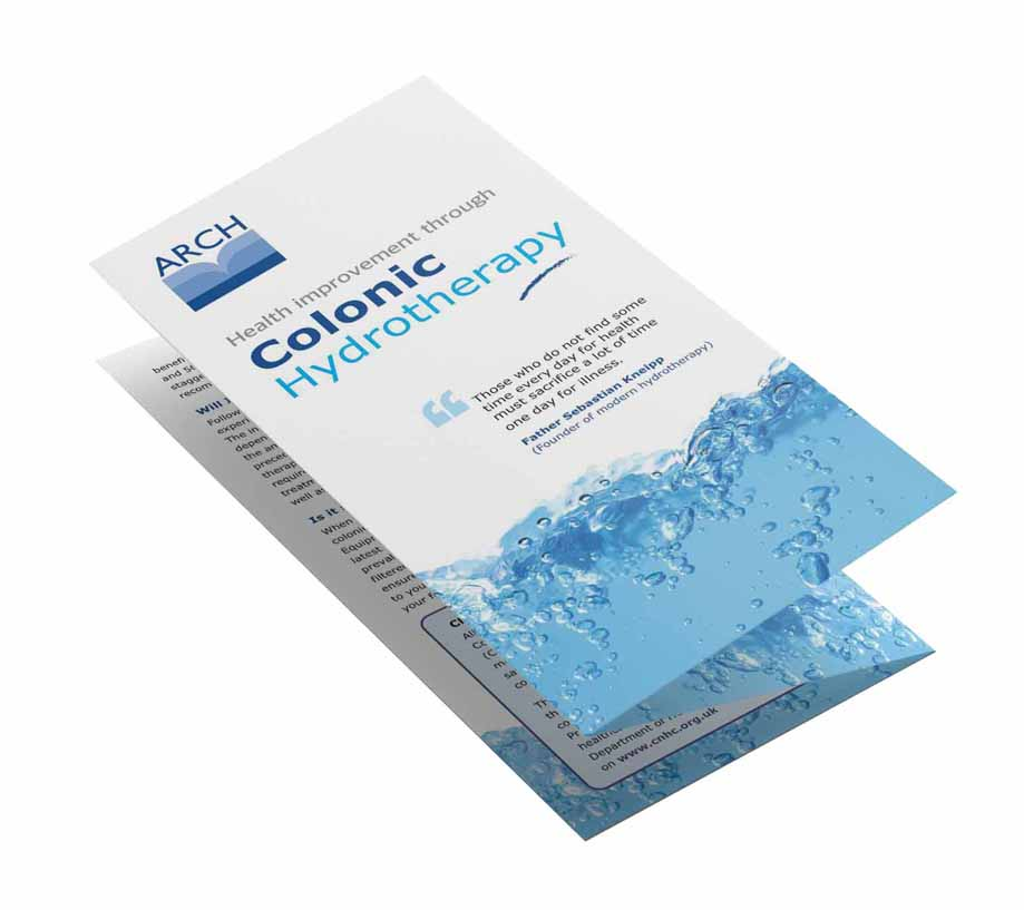DL gatefold leaflet designed for print