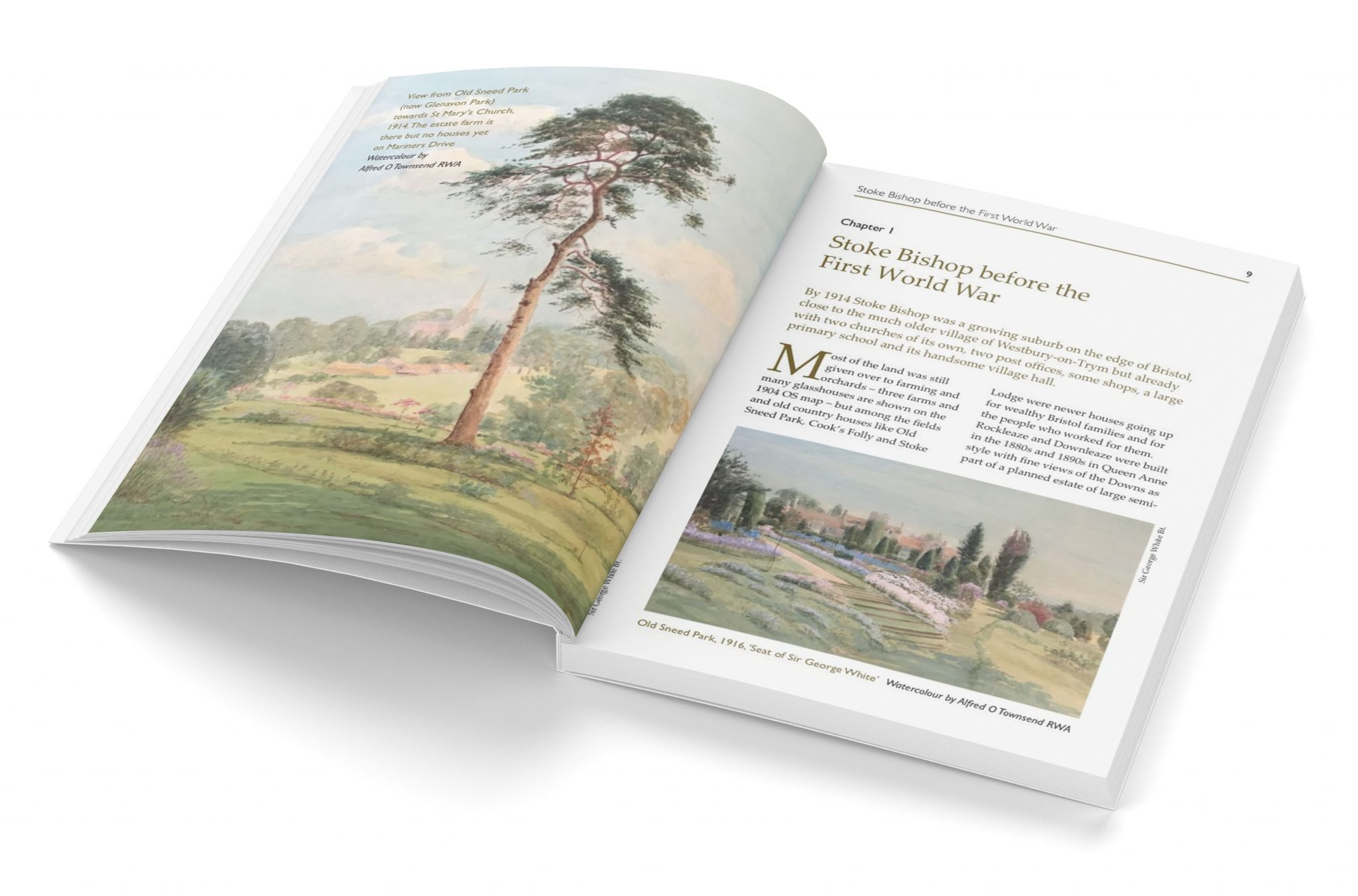 A5 book designed for print