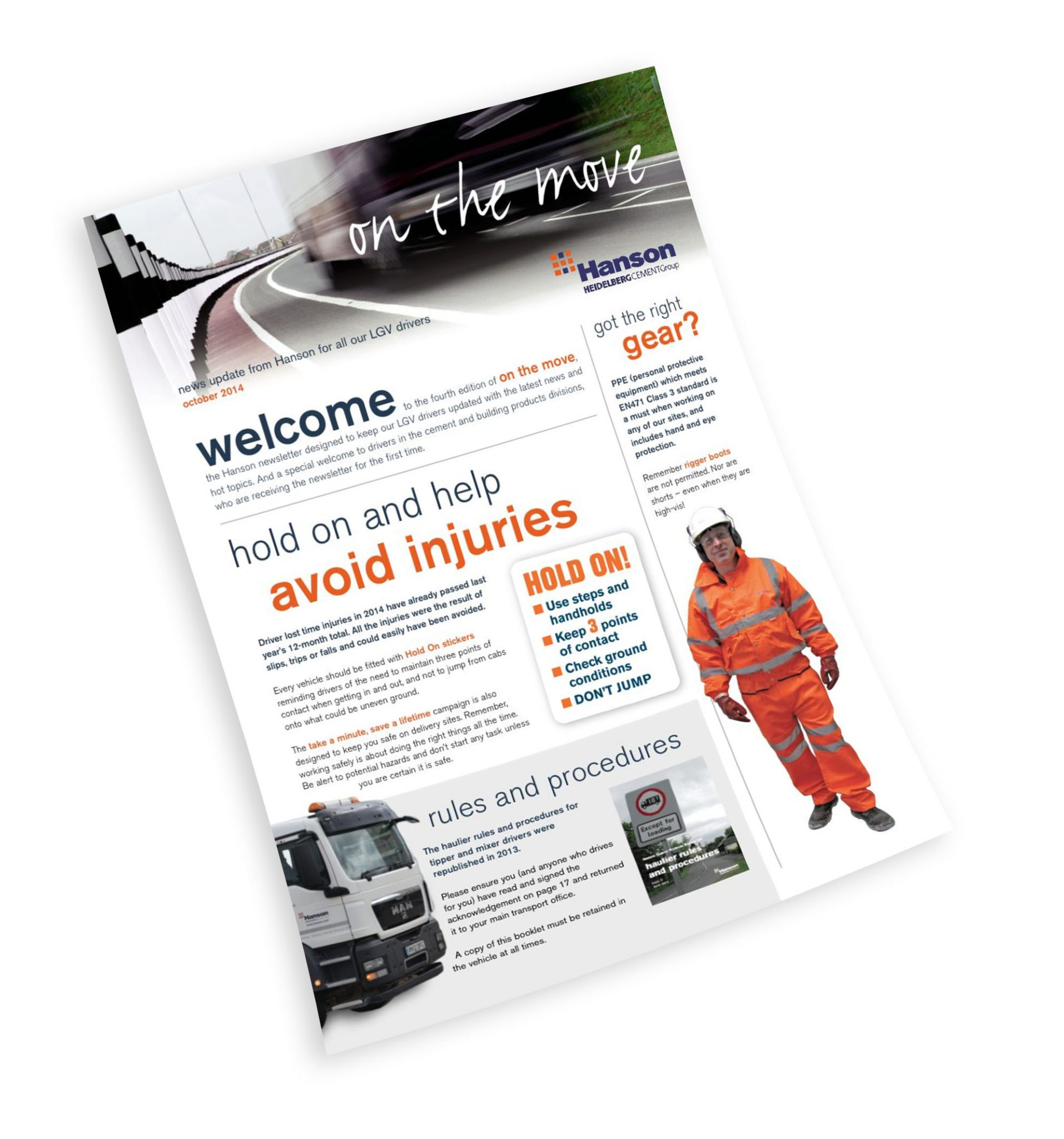 A4 newsletter designed for print and PDF download