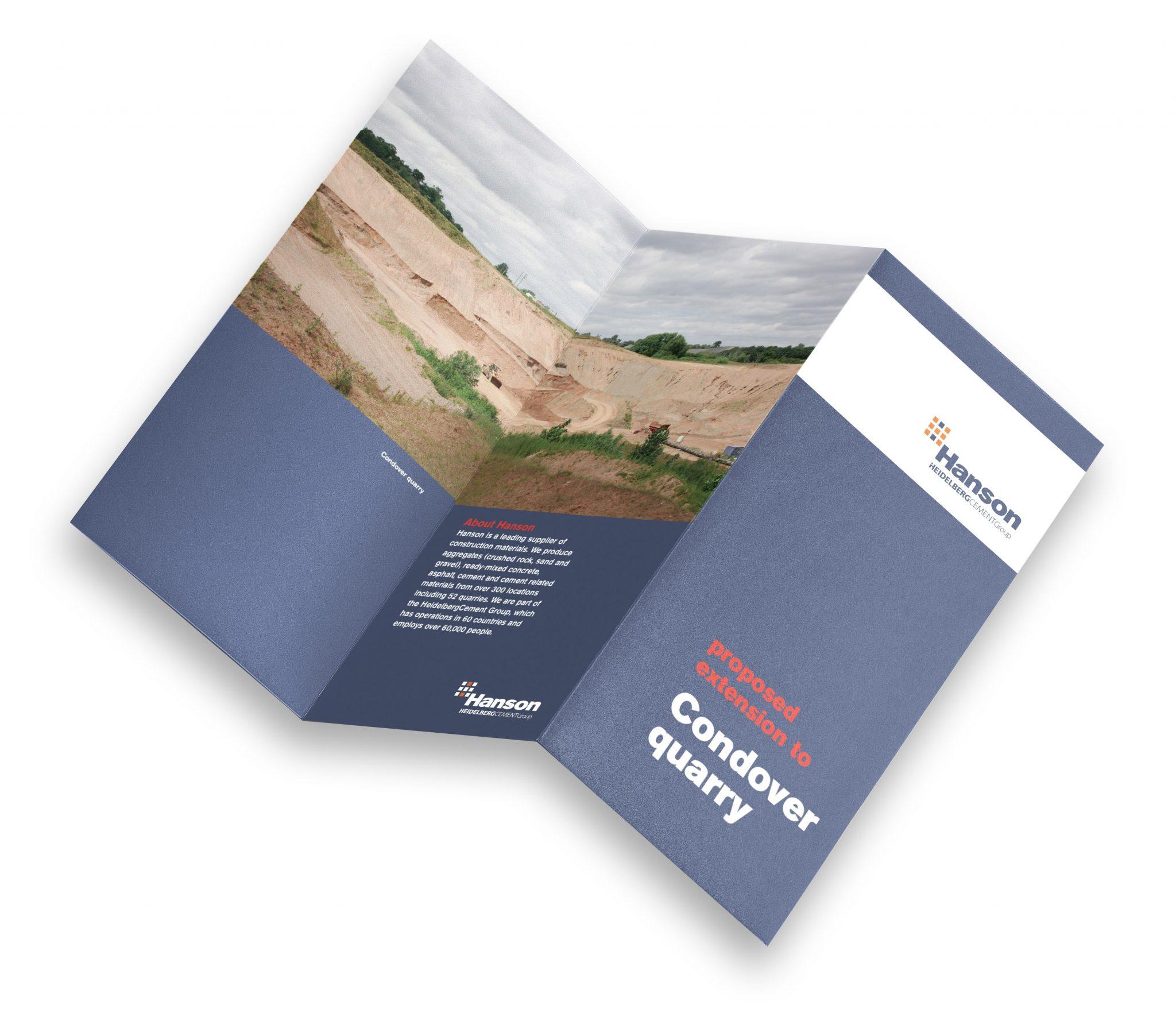 DL 6-page leaflet