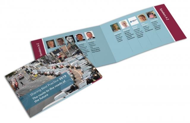 A6 lanyard booklet for conference delegates